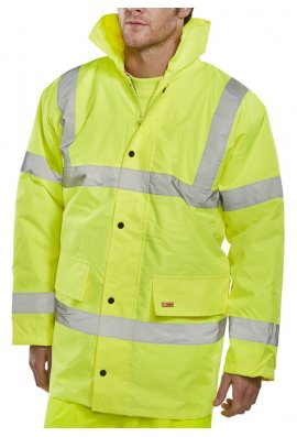 Click CTJENG Padded Rainproof Traffic Jacket (Small To 6XL)