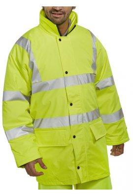 Beeswift PUJ Hi Visibility Breathable PU Coated Jacket