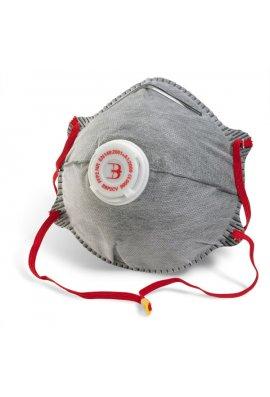 Click BBP2CV B Brand P2 Charcoal Mask Pack of 10