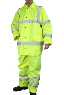 Click TS8 Hi Visibility Light Weight Hi Visibility Suit (Small To 6XL)