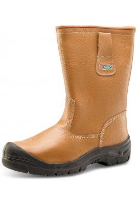 Click RBLSSC Click Footwear Scuff Cap Rigger Boot Lined