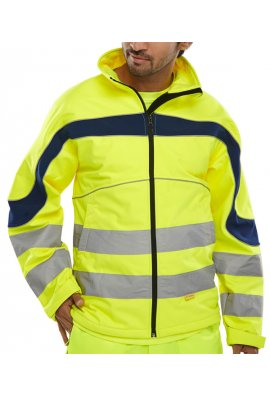 Beeswift ET40 Eton Soft Shell Jacket (Breathable , Water Resistant) (Small To 6XL)