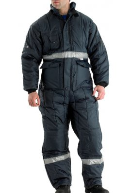 Beeswift CCFC Coldstar Enhanced Visibility Freezer Coverall (S To XXXL)