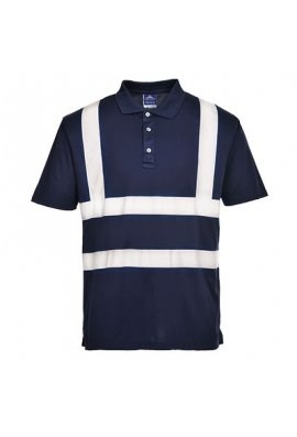 Portwest F477 Iona Enhanced Visibility Polo Shirt (Small To 2XL)