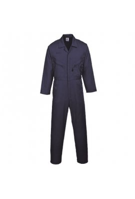 "Portwest C813 Zip Fronted  Boilersuit Standard Colour Range Regular 31"" Leg (Small to 5Xlarge)"