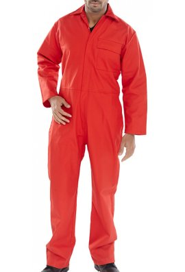 Beeswift CFRBS Click Flame Retardent Coverall (36 Chest to 60 Chest)
