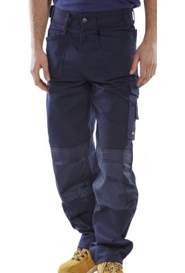 Click CPMPTN Navy Premium Holster Pocket Trousers
