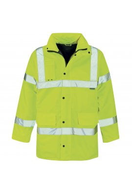 Dickies WD041 Hi Visibility Motorway Jacket (Medium To 2XL)