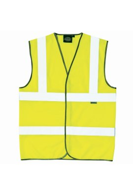 Dickies WD045 Dickies Hi Vis Vests (Medium To 3XL)