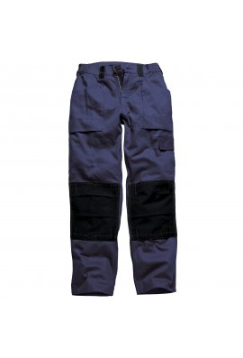 Dickies WD012 Grafted Duo Tone Trousers Navy/Black