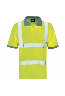 Dickies WD043 Hi-Vis Polo Shirt (Medium To 2XL)