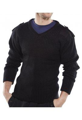 Beeswift AMODV Click Nato V-Neck Sweat Shirt (Small to 3Xlarge)