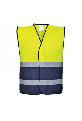 Portwest C484 Two Tone Hi Vis Vests (Small to 3XL)