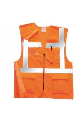 Portwest RT26 Rail Spec Executive Hi Vis Vests (Medium To 2XL)