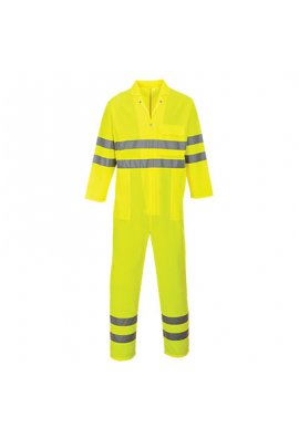 Portwest C485 HiVis Breathable Coverall (Small To 2XL)