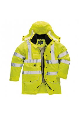 Portwest S427 Hi-Vis 7-In-1 Traffic Jacket (XSmall To 5XL)
