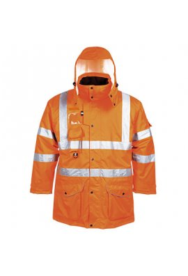Portwest RT27 Hi-Vis 7-in-1 Traffic Jacket GO/RT (XSmall To 4XL)