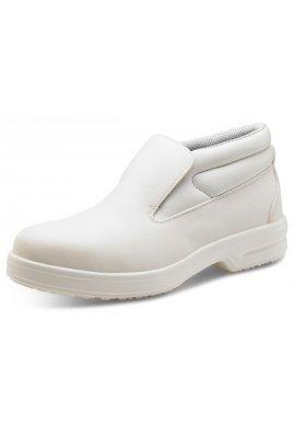 Click CF852 White Slip-On Chukka Boot