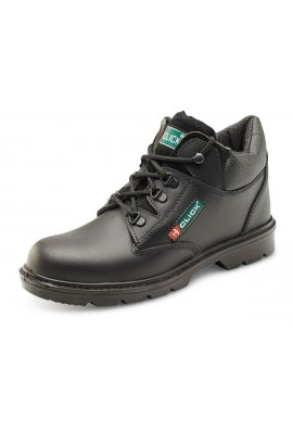 Click CF4BL Smooth Leather Mid-Cut Boots