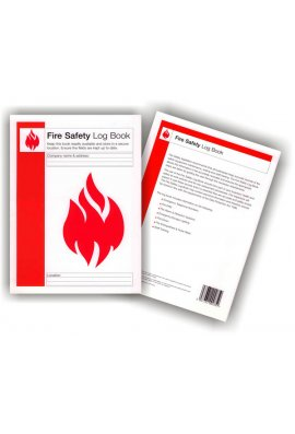 Click BSS13240 Fire And Safety Log Book