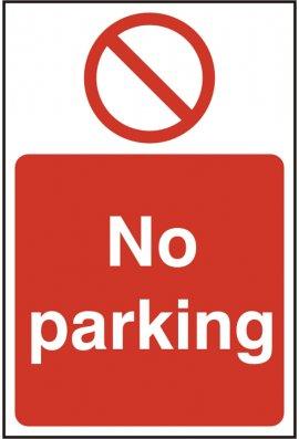 Click BSS11627 No Parking Sign PVC Version