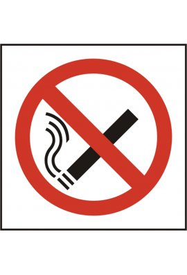 Click BSS11840 No Smoking Symbol Sign Vinyl Version