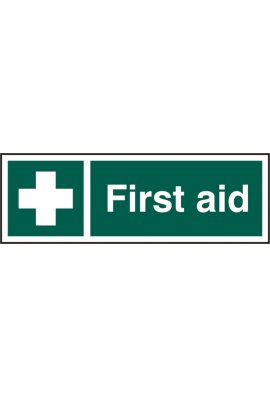 Click BSS12051 First Aid Sign PVC Version