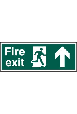 Beeswift BSS12105 Fire Exit Man Up Sign PVC Version