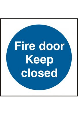Click BSS11342 Fire Door Keep Closed Sign Vinyl Version