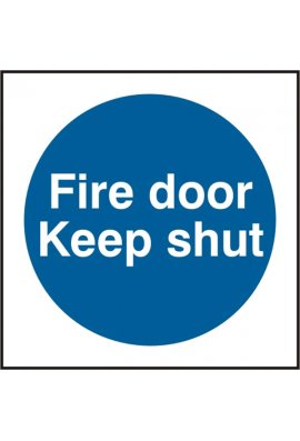 Click BSS11324 Fire Door Keep Shut Sign Vinyl Version
