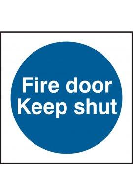 Click BSS11325 Fire Door Keep Shut PVC Version