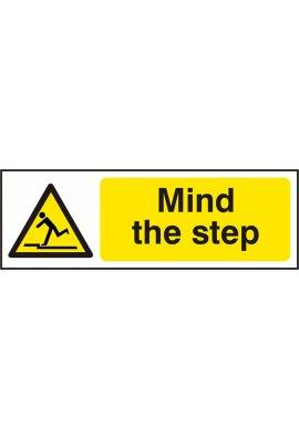 Click BSS11107 Mind The Step Sign Vinyl Version