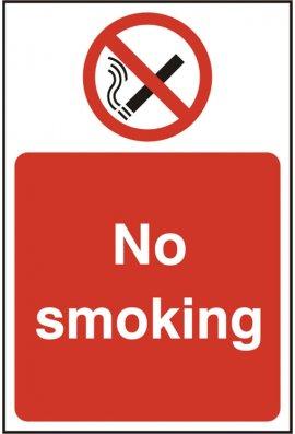 Click BSS11811 No Smoking Sign PVC Version