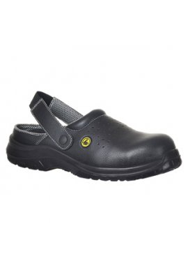 Portwest FC03 Compositelite ESD Perforated Safety Clog SB AE