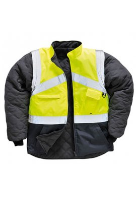 Portwest S769 Hi-Vis 2 -Tone Jacket - Reversable (XSmall To 2XL)