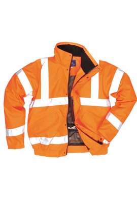 Portwest RT62 Hi-Vis Breathable Bomber Jacket (Small To 3XL)