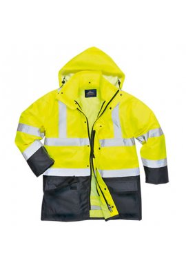 Portwest S768 Hi-Vis Executive 5-in-1 Jacket (XSmall To 4XL)