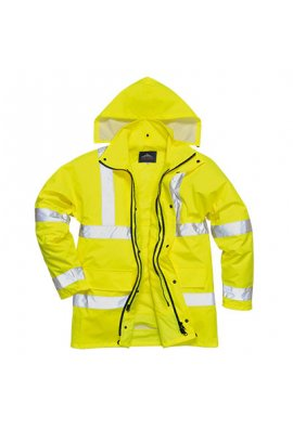 Portwest S468 Hi-Vis 4-in-1 Traffic Jacket (XSmall To 5XL)