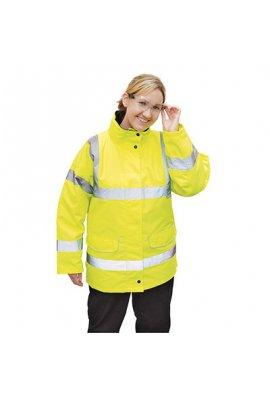 Portwest S360 Hi-Vis Ladies Traffic Jacket (XSmall To XL)