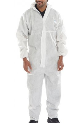 Portwest ST11 Disposable Coverall Pack Size 120 (Small to 3XLarge)