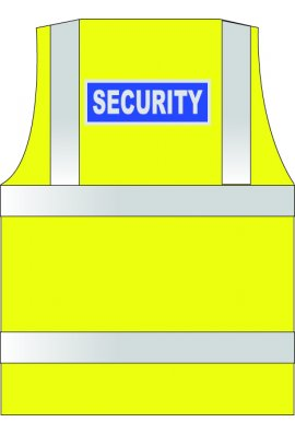Click WCENGSE Security Hi Vis Vests (XSmall To 6XL)