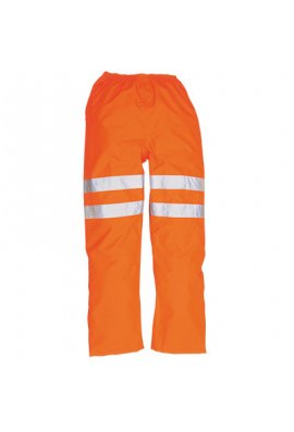 Portwest RT31 Hi-Vis Rail / traffic  Trousers GO/RT (Small To 3XL)