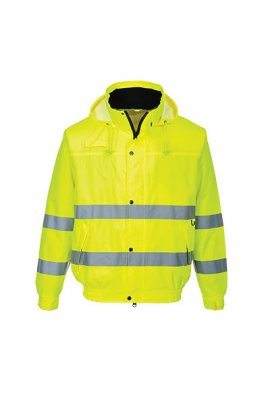 Portwest S161 Hi-Vis Lite Bomber Jacket (Small To 3XL)