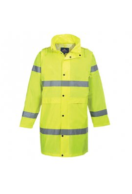 Portwest H442 Hi-Vis Rain Coat (Small To 2XL)