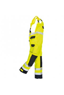 Portwest TX52 Texo Hi-Vis Bib & Brace (Small To 2XL)
