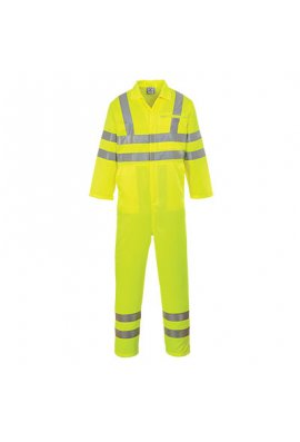 Portwest E042 Hi-Vis Poly-Cotton Coverall (Small To 3XL)
