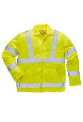 Portwest E040 Hi-Vis Ground Workers  Jacket (Small To 3XL)