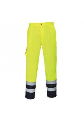 Portwest E047 Hi-Vis Contrast Trousers (Small To 2XL)