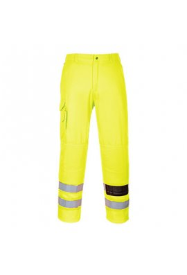 Portwest E046 Hi-Vis Combat Trousers (Small To 2XL Reg)