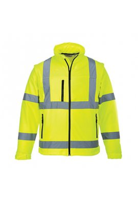 Portwest S428 Hi-Vis Softshell Jacket (Small To 4XL)